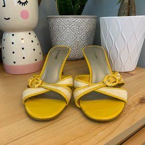 Yellow Bay Studio Heels - Size US 8.5